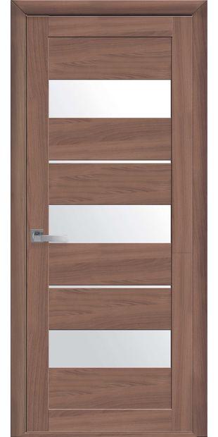 Межкомнатные двери Лилу со стеклом сатин lilu-22