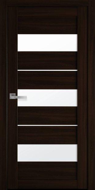 Межкомнатные двери Лилу со стеклом сатин lilu-25