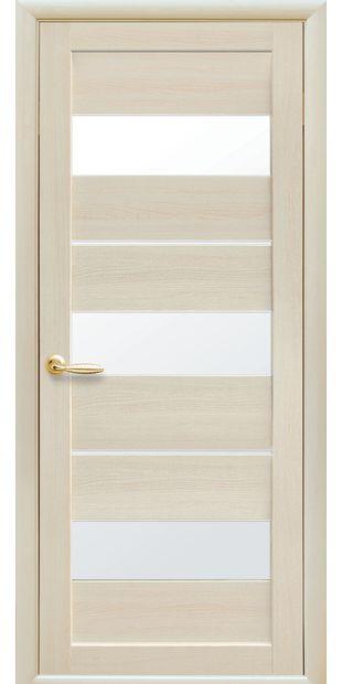 Межкомнатные двери Лилу со стеклом сатин lilu-7