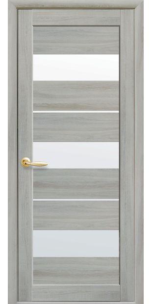 Межкомнатные двери Лилу со стеклом сатин lilu-8