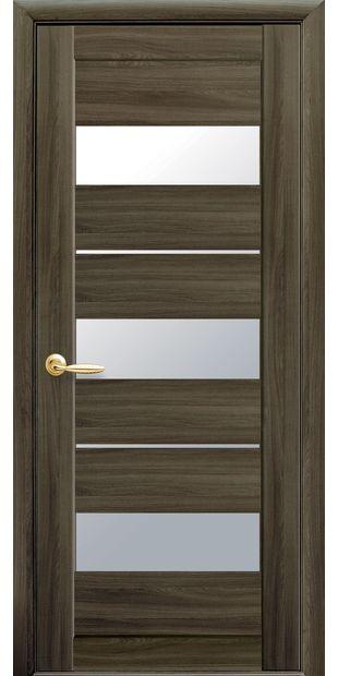 Межкомнатные двери Лилу со стеклом сатин lilu-9
