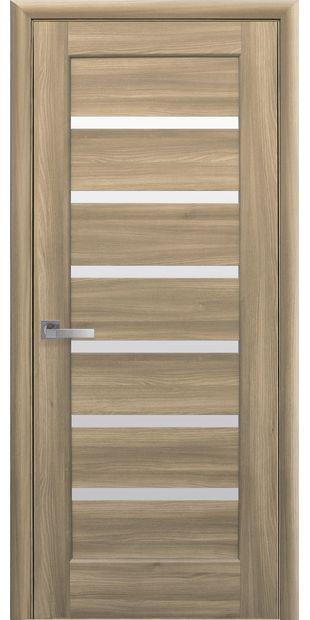 Межкомнатные двери Линнея со стеклом сатин linneya-37