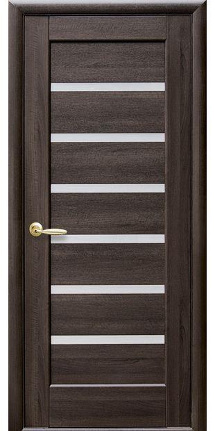 Межкомнатные двери Линнея со стеклом сатин linneya-4