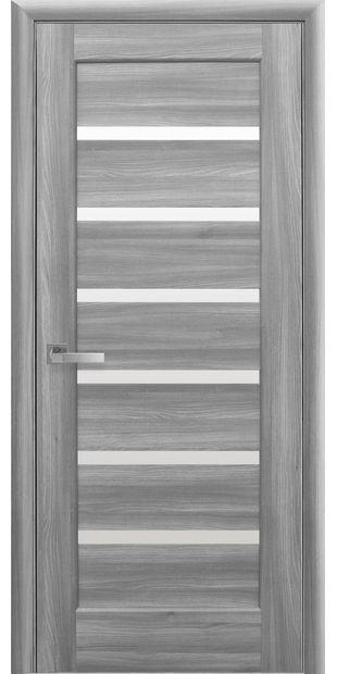 Межкомнатные двери Линнея со стеклом сатин linneya-41