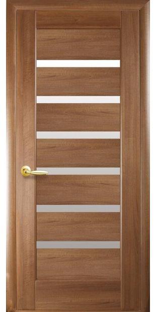 Межкомнатные двери Линнея со стеклом сатин linneya-5