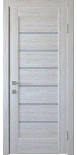 Межкомнатные двери Линнея со стеклом сатин linneya-6