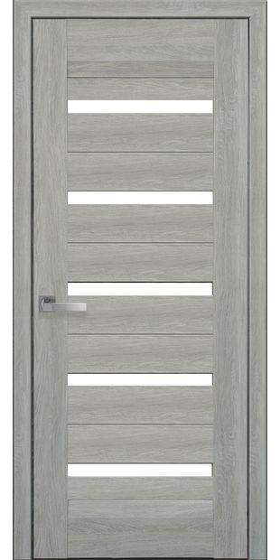 Межкомнатные двери Лира со стеклом сатин lira-1
