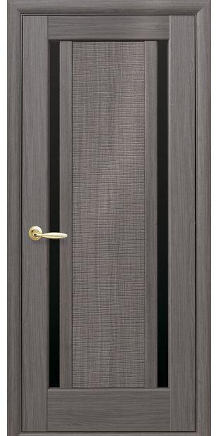 Межкомнатные двери Луиза с черным стеклом luiza-8