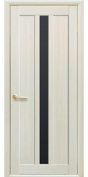 Межкомнатные двери Марти с черным стеклом marti-11