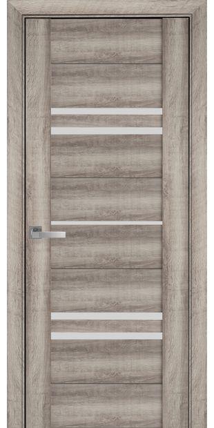 Межкомнатные двери Мерида со стеклом сатин meryda