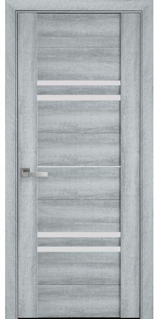Межкомнатные двери Мерида со стеклом сатин meryda3