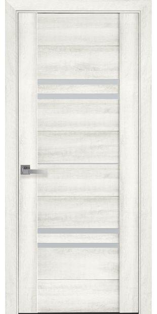 Межкомнатные двери Мерида со стеклом сатин meryda9