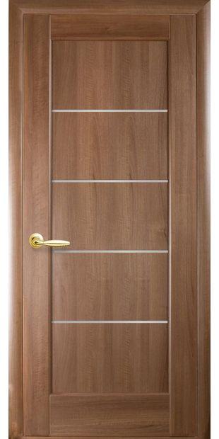 Межкомнатные двери Мира со стеклом сатин mira-15