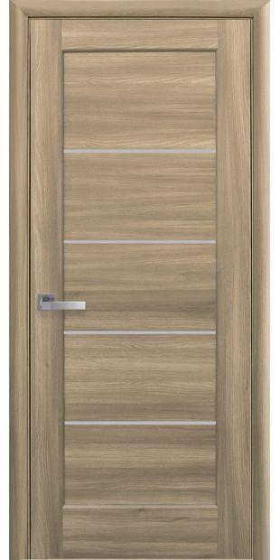Межкомнатные двери Мира со стеклом сатин mira-25