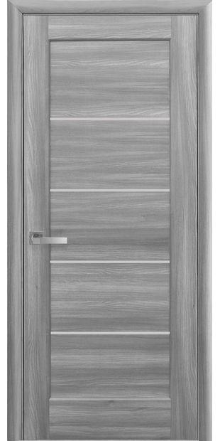 Межкомнатные двери Мира со стеклом сатин mira-28