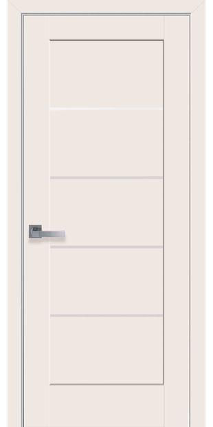 Межкомнатные двери Мира со стеклом сатин mira-31