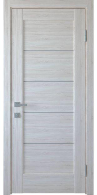 Межкомнатные двери Мира со стеклом сатин mira-9