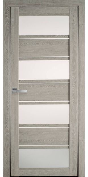 Межкомнатные двери Элиза со стеклом сатин moda-pvh-ultra-jeliza-pvh-ultra-dub-molochnyj-so-steklom-satin