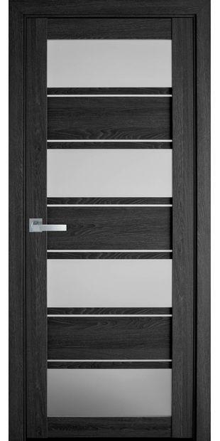 Межкомнатные двери Элиза со стеклом сатин moda-pvh-ultra-jeliza-pvh-ultra-dub-seriy-so-steklom-satin