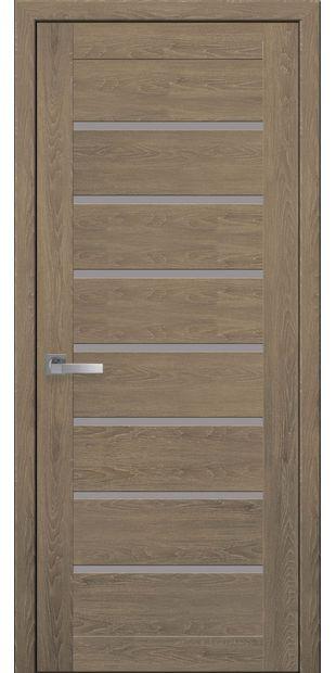 Межкомнатные двери Леона со стеклом сатин moda-pvh-ultra-leona-pvh-ultra-dub-medovyj-so-steklom-satin