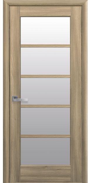 Межкомнатные двери Муза со стеклом сатин muza-13