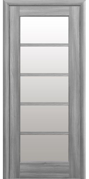 Межкомнатные двери Муза со стеклом сатин muza-14