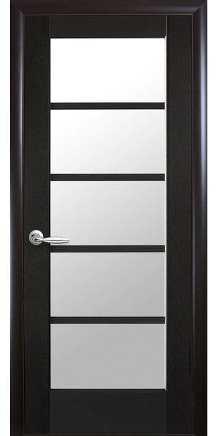 Межкомнатные двери Муза со стеклом сатин muza-2