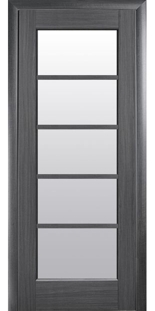 Межкомнатные двери Муза со стеклом сатин muza-5