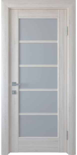 Межкомнатные двери Муза со стеклом сатин muza-9