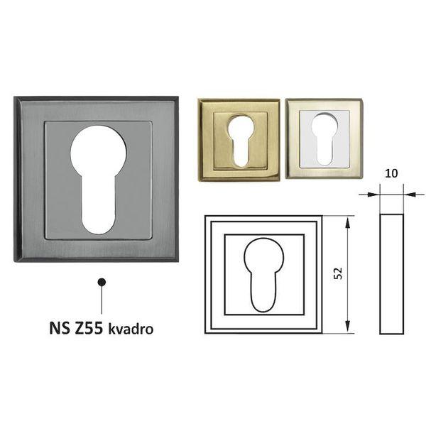 Накладка NS Z55 KVADRO X nakladka-ns-z55-kvadro-x