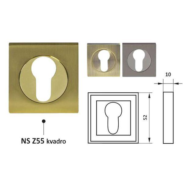 Накладка NS Z55 KVADRO ns-z55-kvadro-2