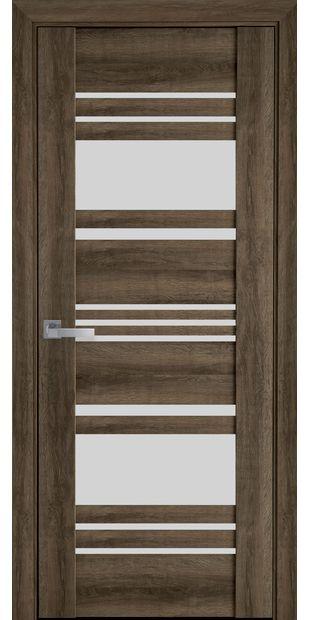 Межкомнатные двери Ницца со стеклом сатин nytstsa5