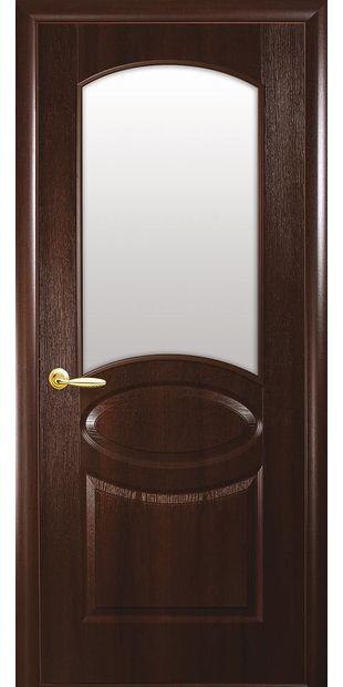Межкомнатные двери Овал со стеклом сатин oval-3