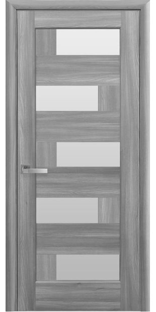 Межкомнатные двери Пиана со стеклом сатин piana-1