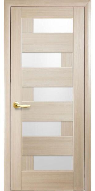 Межкомнатные двери Пиана со стеклом сатин piana-27