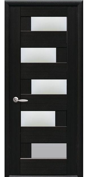 Межкомнатные двери Пиана со стеклом сатин piana-28