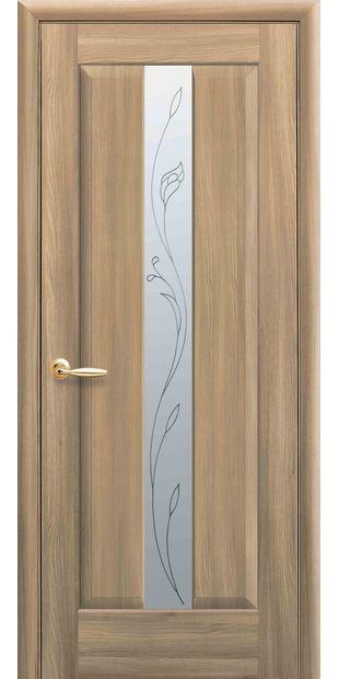 Межкомнатные двери Премьера со стеклом сатин и рисунком Р2 premera-8