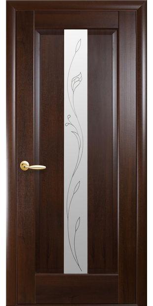 Межкомнатные двери Премьера со стеклом сатин и рисунком Р2 premiera-10