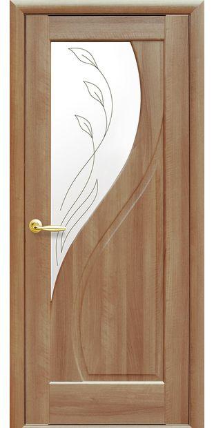 Межкомнатные двери Прима со стеклом сатин и рисунком Р2 prima-10
