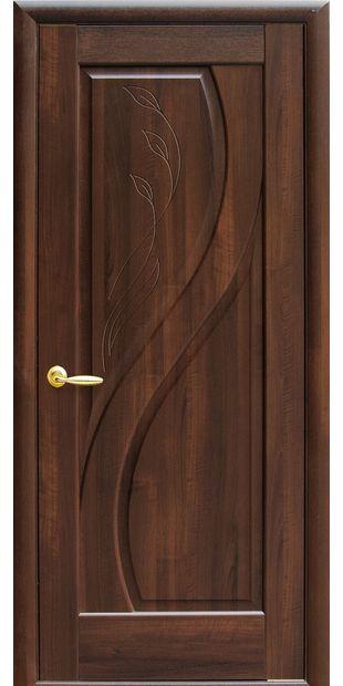Межкомнатные двери Прима глухое с гравировкой prima-4