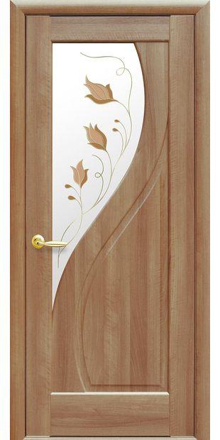 Межкомнатные двери Прима со стеклом сатин и рисунком Р1 prima-6
