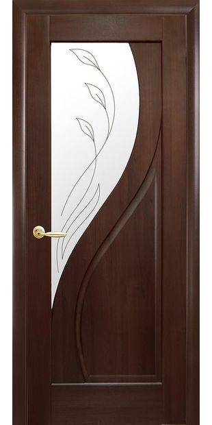 Межкомнатные двери Прима со стеклом сатин и рисунком Р2 prima-9