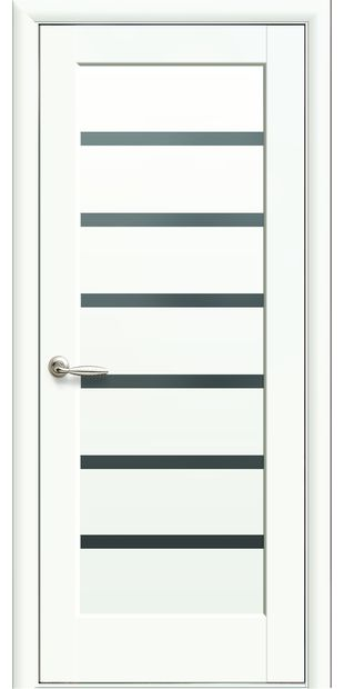 Межкомнатные двери Линнея с черным стеклом pvh-deluxe-linnea-s-cernym-steklom