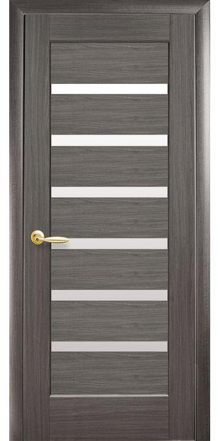 Межкомнатные двери Линнея со стеклом сатин pvh-deluxe-linnea-so-steklom-satin-1