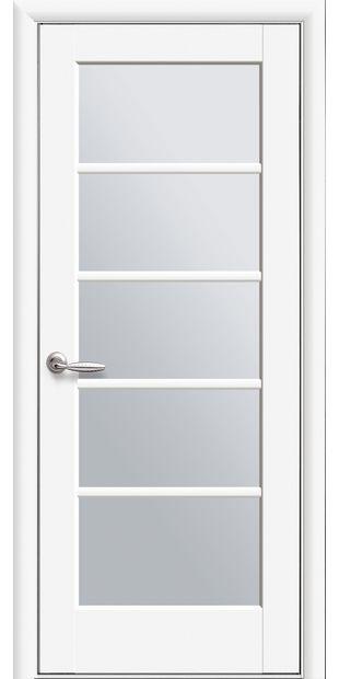 Межкомнатные двери Муза со стеклом сатин pvh-deluxe-muza-so-steklom-satin