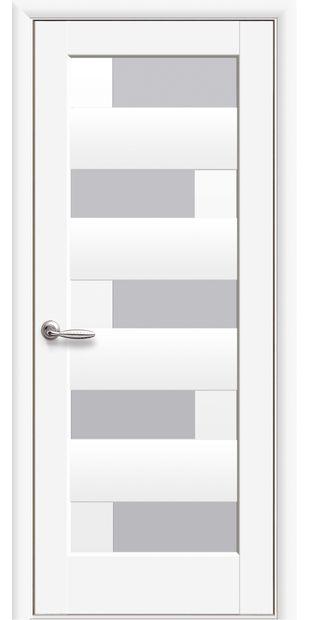 Межкомнатные двери Пиана со стеклом сатин pvh-deluxe-piana-so-steklom-satin