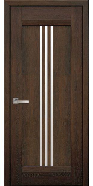 Межкомнатные двери Рейс со стеклом сатин race-4