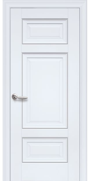 Межкомнатные двери Шарм Глухое с молдингом sarm-2