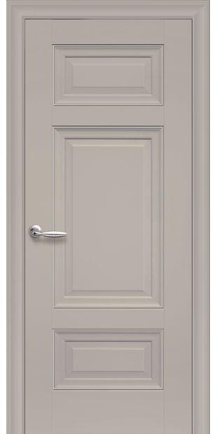 Межкомнатные двери Шарм Глухое с молдингом sarm-3