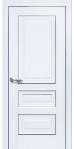 Межкомнатные двери Статус Глухое с молдингом status-3
